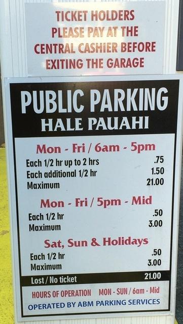 ハレパウアヒ駐車料金.jpg